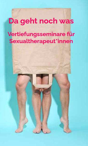 Cover Vertiefungsseminare für Sexualtherapeut:innen